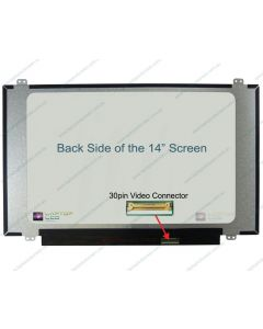 BOE NT140WHM-N41 V8.0 Replacement Laptop LCD Screen Panel