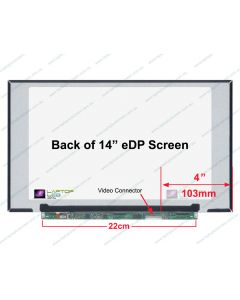 Chi Mei N140HCA-EBC REV.B4 Replacement Laptop LCD Screen Panel